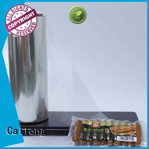 Cailong Anti-UV plastic film roll supplier decorative materials