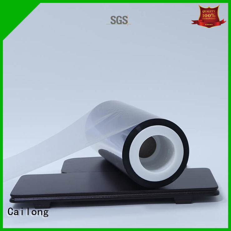 Cailong water vapour pet metalized type for decorative materials