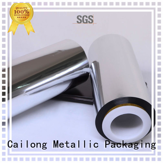metal film aluminum for bag producing Cailong