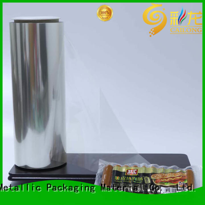 Cailong petlx plastic film roll free quote for stickers