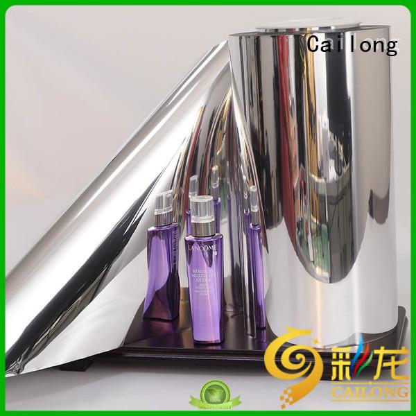 Cailong barrier metallised film type ffor Decorative