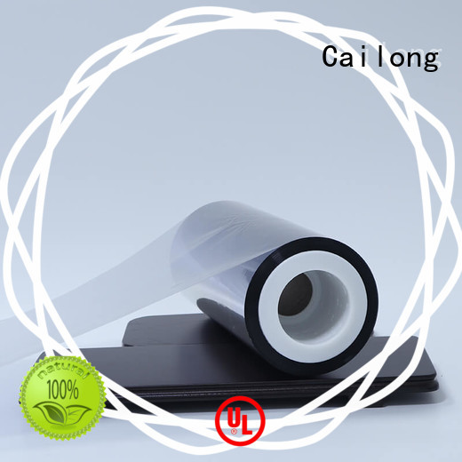 Cailong Vacuum pet metalized for shopping bags