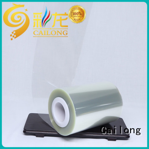 Cailong humanized transparency film certifications for shopping bag