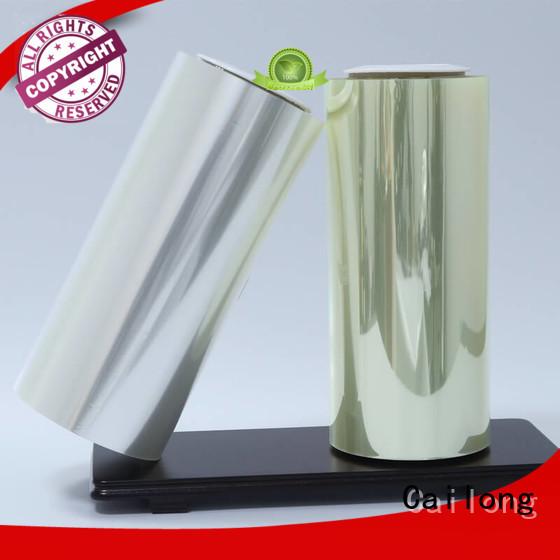 grade clear pet film pethp decorative materials Cailong