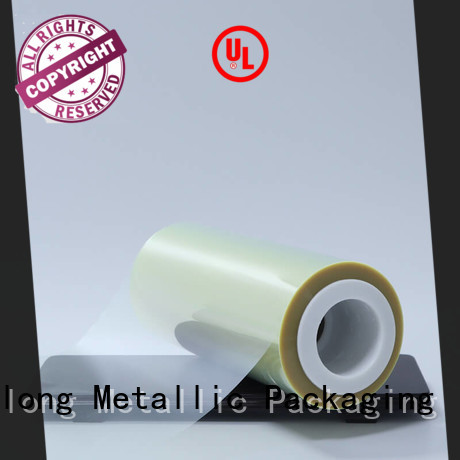 transparent plastic film thermal for stickers Cailong