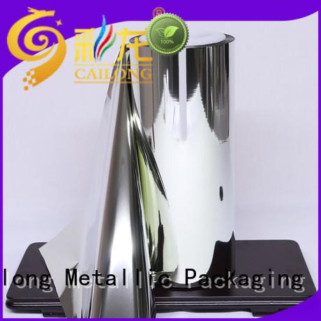 grade metallized film metallized for advertising Cailong