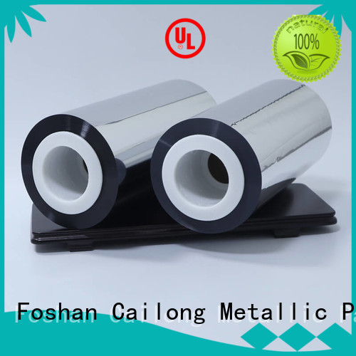 Cailong metal film for wholesale used for medicine