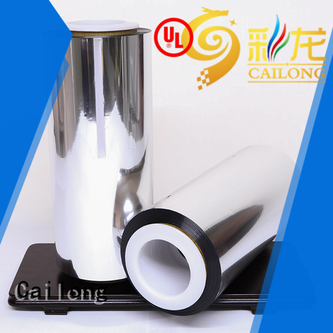 Cailong film metalized paper owner ffor Decorative