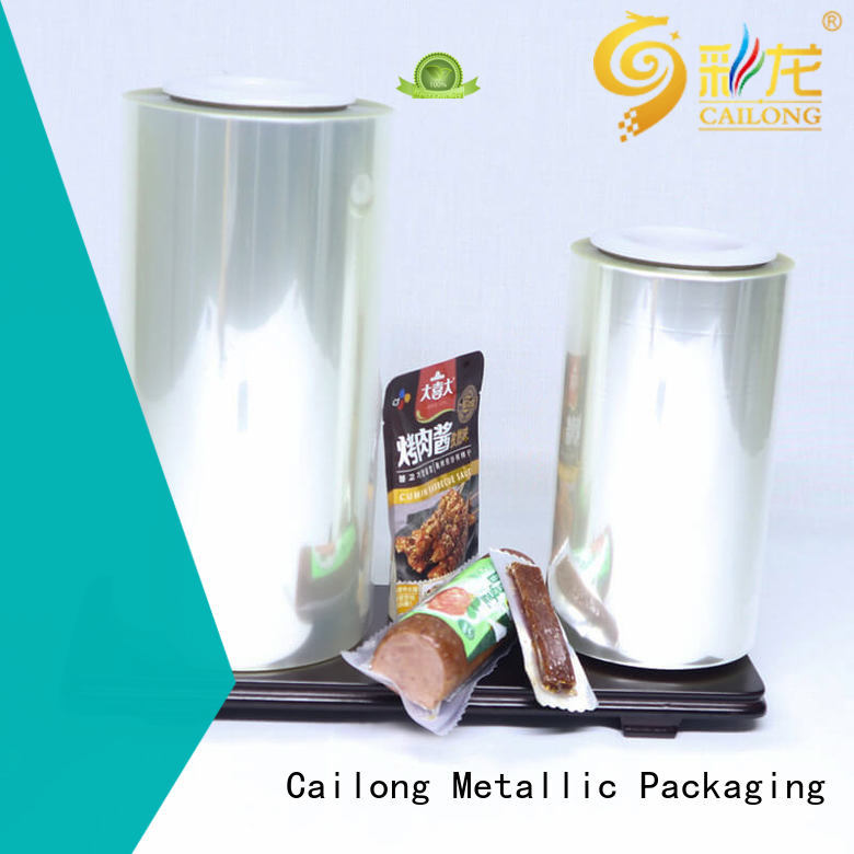 alox film retortable for dehydrated food Cailong