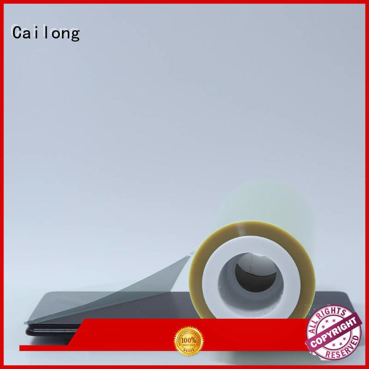 Cailong Anti- Static plastic film antiuv used for labels