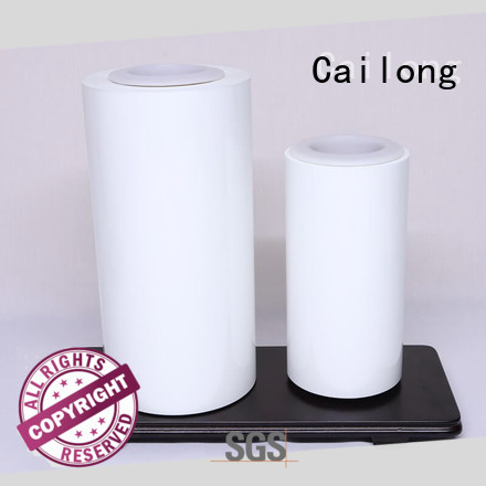 Cailong red transparent color film widely-use for printing