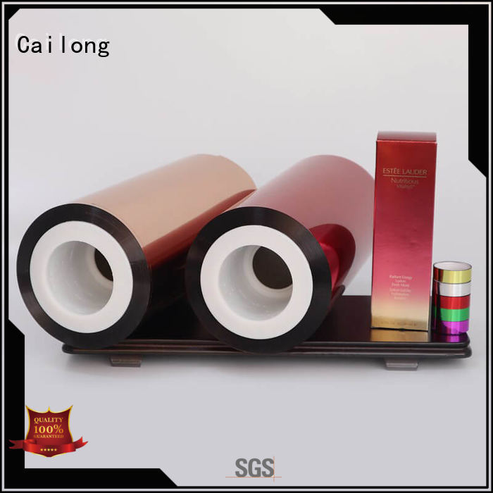 Cailong Original colored polyester film film for labels