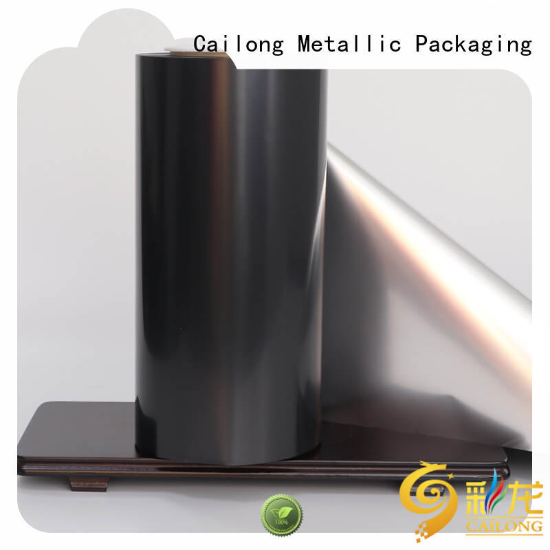 Cailong thin metalized polyester film owner used for stickers