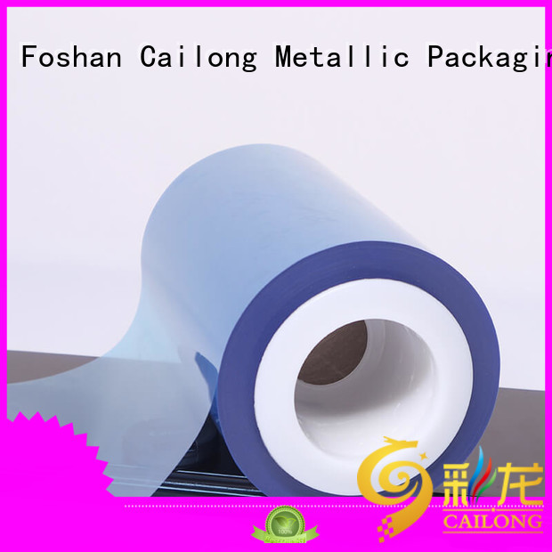 Color Coating pet transparent sheet  supply for cosmestics