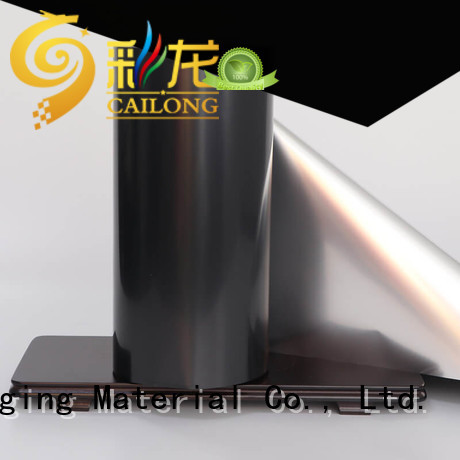 window metalized bopp film for-sale for cooked food Cailong