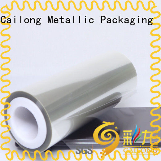 Cailong sealable pet film material free design for medical packaging