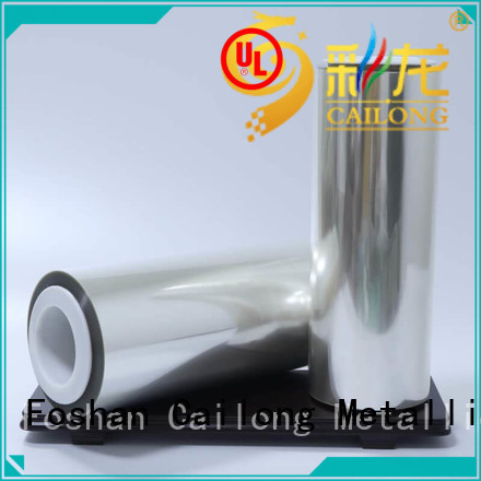 Cailong anti pet laminating film free quote for advertising