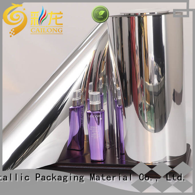 metallizing metalized mylar vmpetgl for shopping bags Cailong