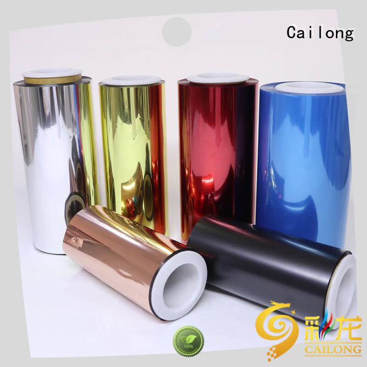 Color Coating clear pet sheet original vendor for printing