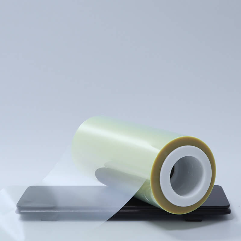 Cailong plain transparency film bulk production for stickers-1