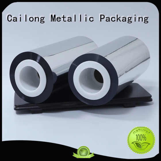 Cailong fine- quality metal film at discount for Decorative