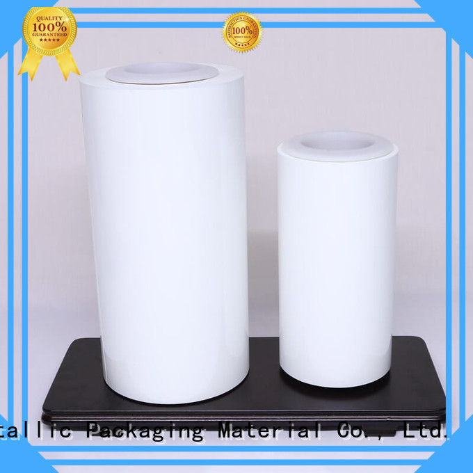 Color Coating colored polyester film supplier for cosmestics Cailong