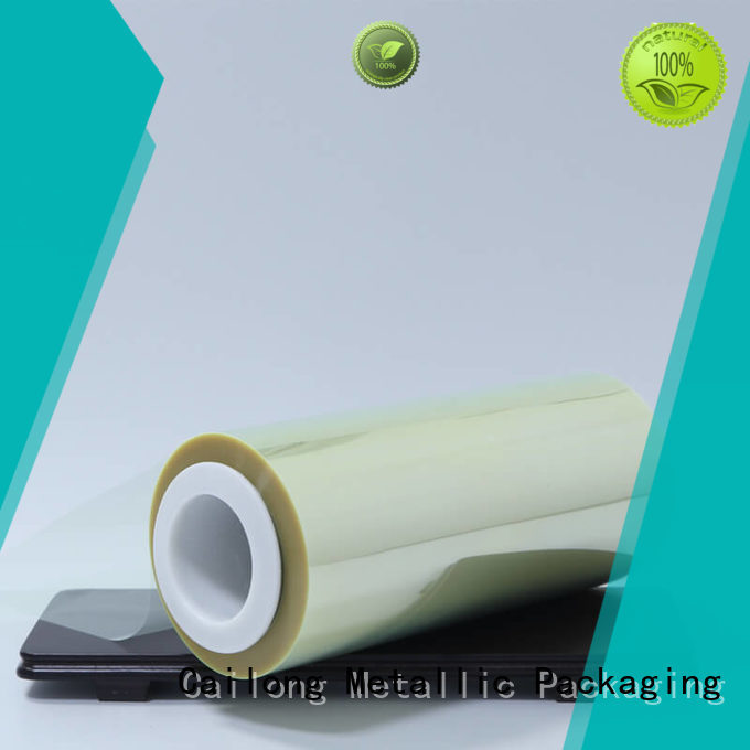 Cailong printing mylar polyester film factory price for advertising