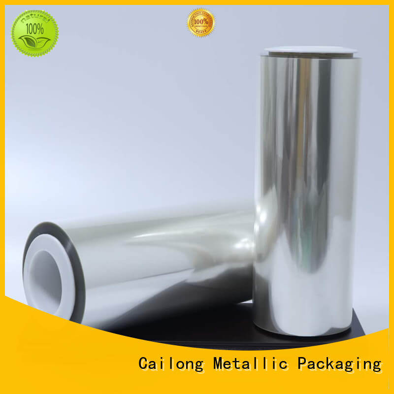 Cailong Anti-UV mylar polyester film widely-use decorative materials
