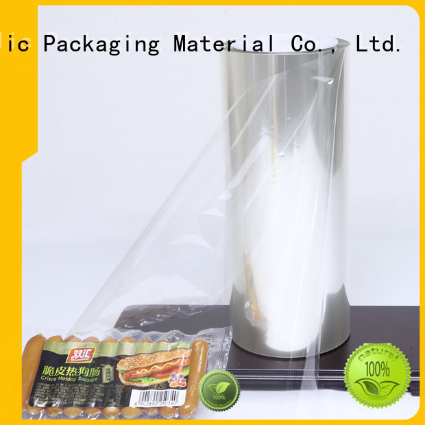 Cailong High Barrier aluminized plastic supplier