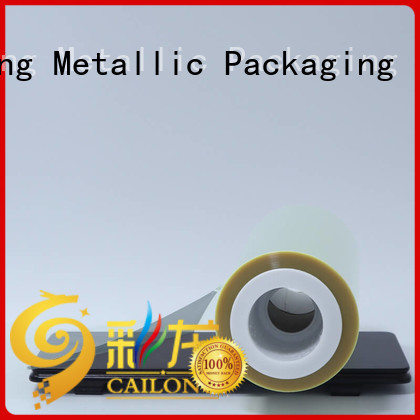 mylar polyester film heat for advertising Cailong