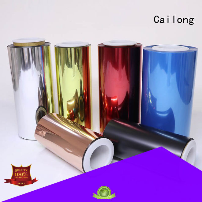 Color Coating pvc film color factory for advertising
