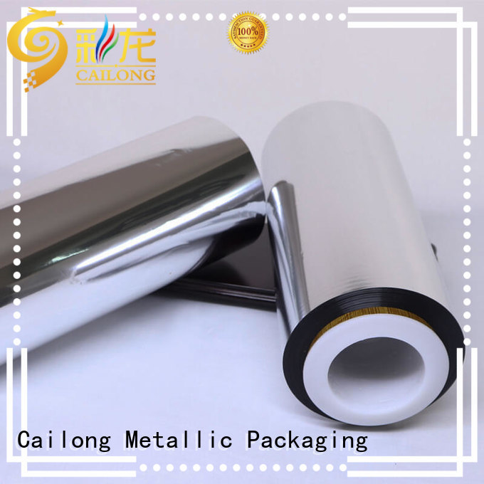 Cailong also metallized film free design for medical packages