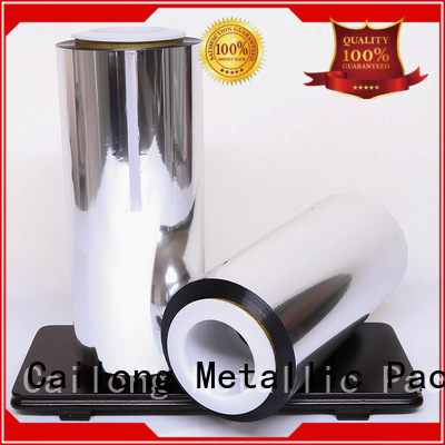 Cailong High barrier metallic film for-sale for decorative materials