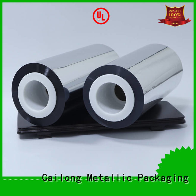 Cailong aluminum metalized plastic at discount for decorative materials