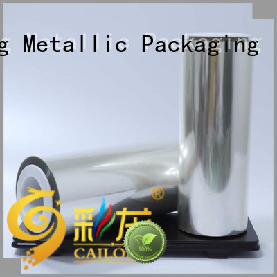 Cailong Anti-UV plastic film roll factory price for advertising