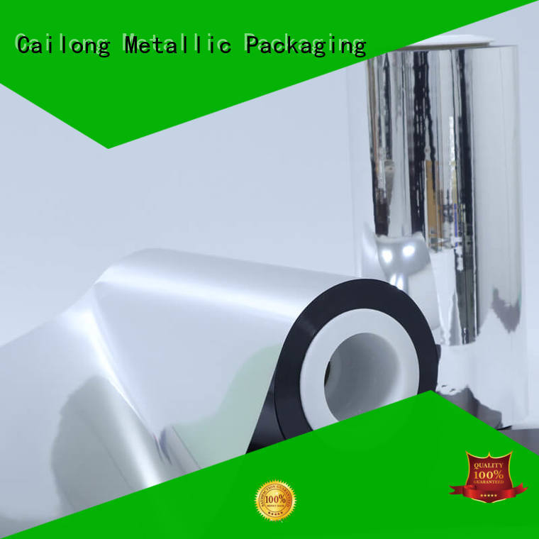 metallised polyester semimetallized for cooked food Cailong