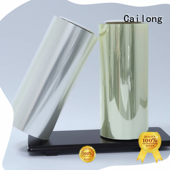 Cailong Plain clear film for stickers