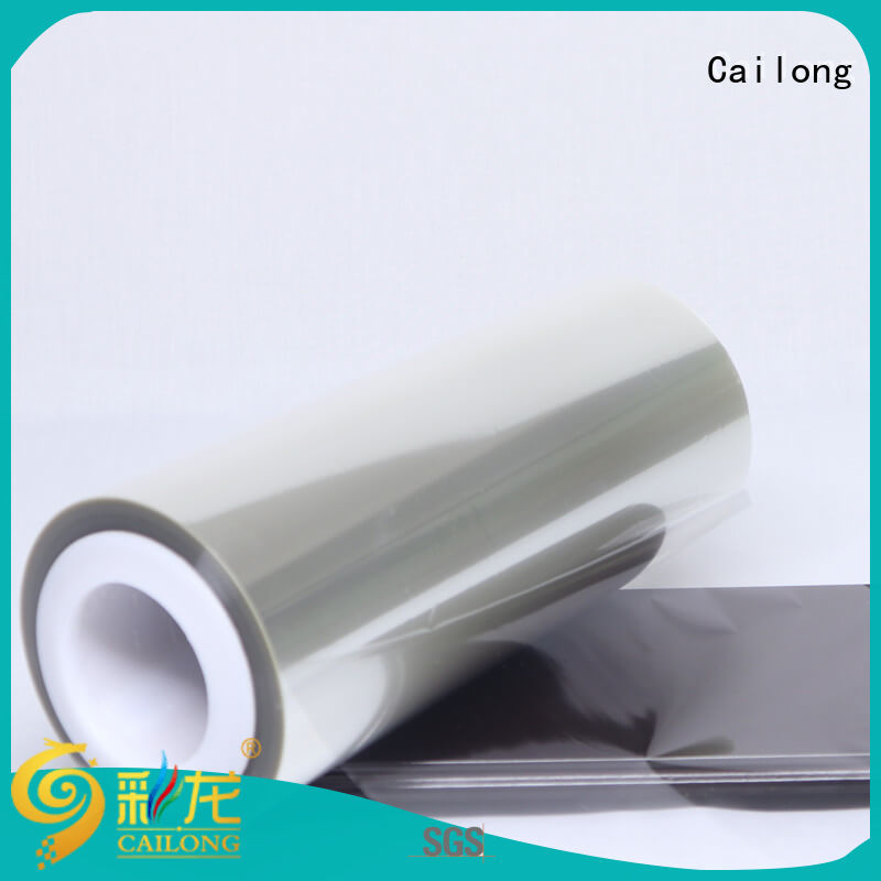 Cailong release plastic film roll supplier for medical packaging