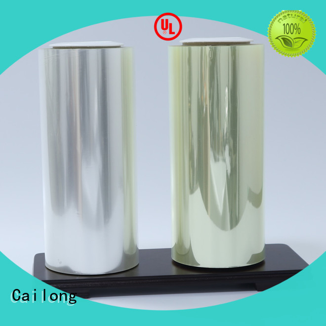 Cailong protective laminating film research for tea