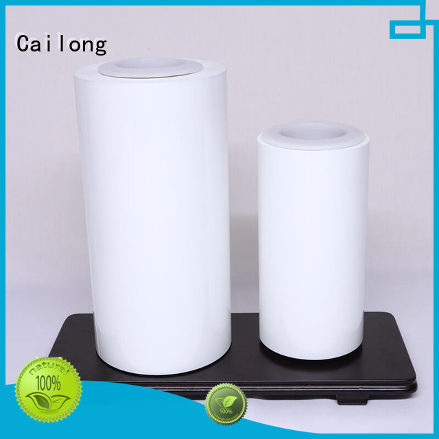 Cailong petts colored polyester film for electronics