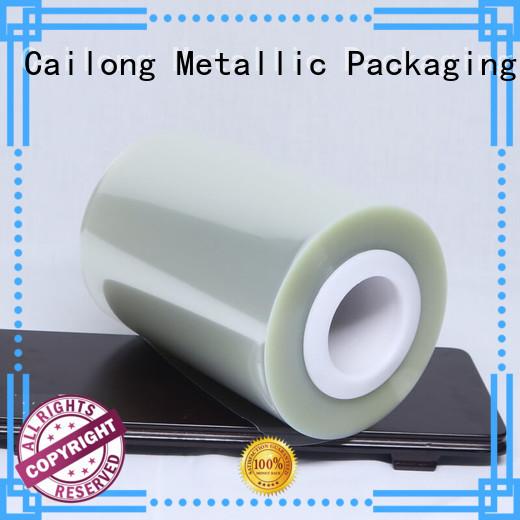 Cailong grade mylar polyester film for medical packaging