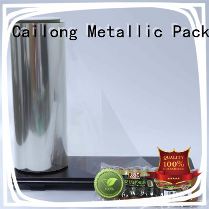Cailong Plain polyester film widely-use for stickers
