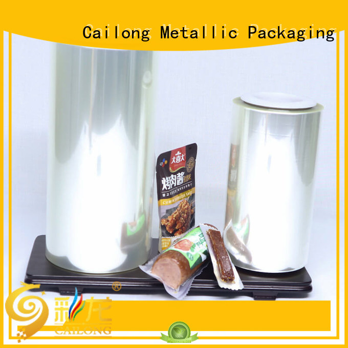 Cailong Printable alox film barrier for seafood
