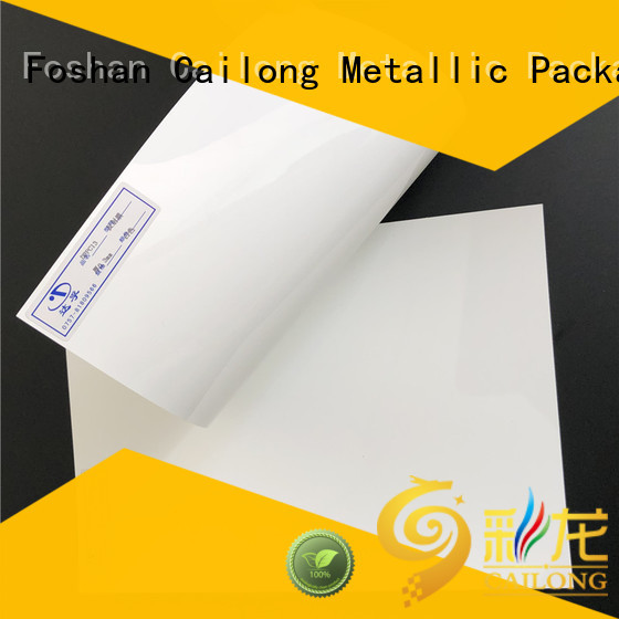 Cailong Transparent polycarbonate plate directly sale for optical disk substrates