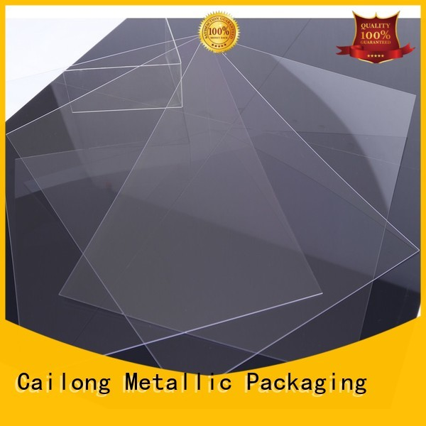 Cailong Printing clear polycarbonate rolls flame for automobiles