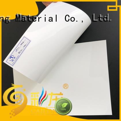 Cailong Light Guiding polycarbonate plastic sheets grade for LED lighting