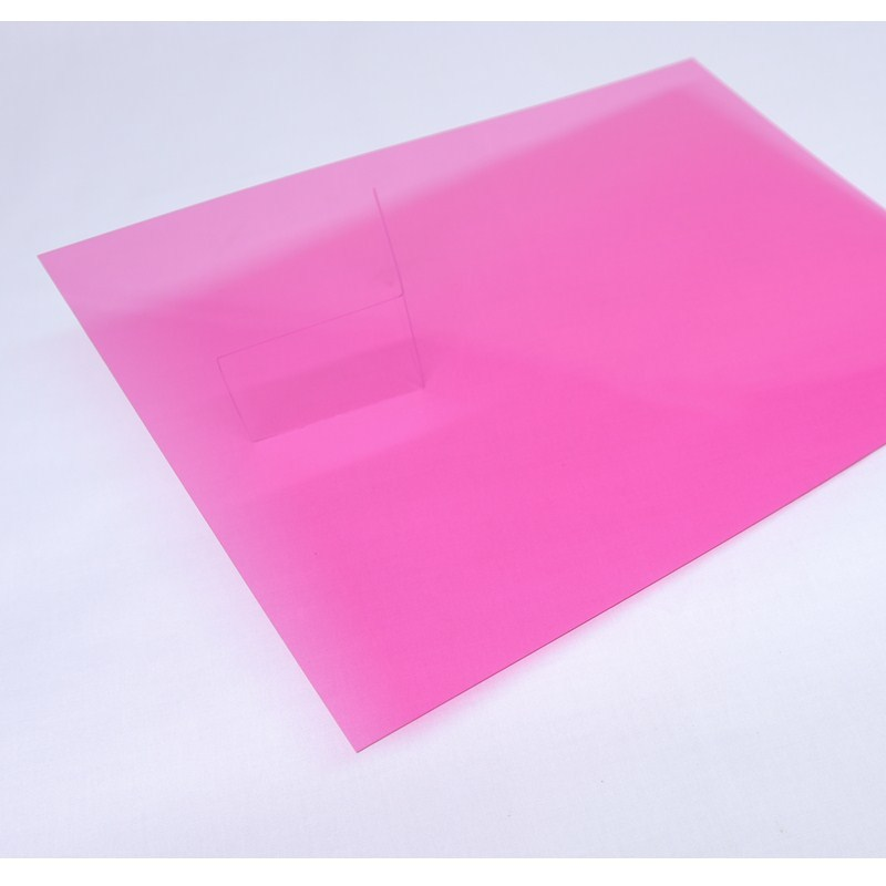 Cailong transparent clear plastic sheets for kids for optical disk substrates