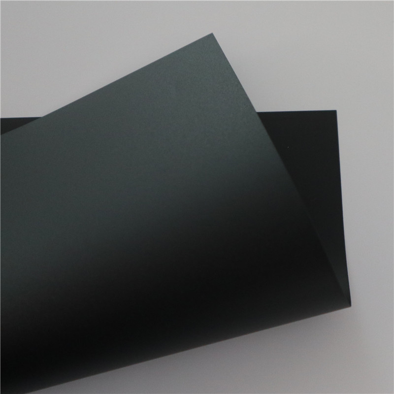 Black Flame Retardant Polycarbonate Film/Sheet