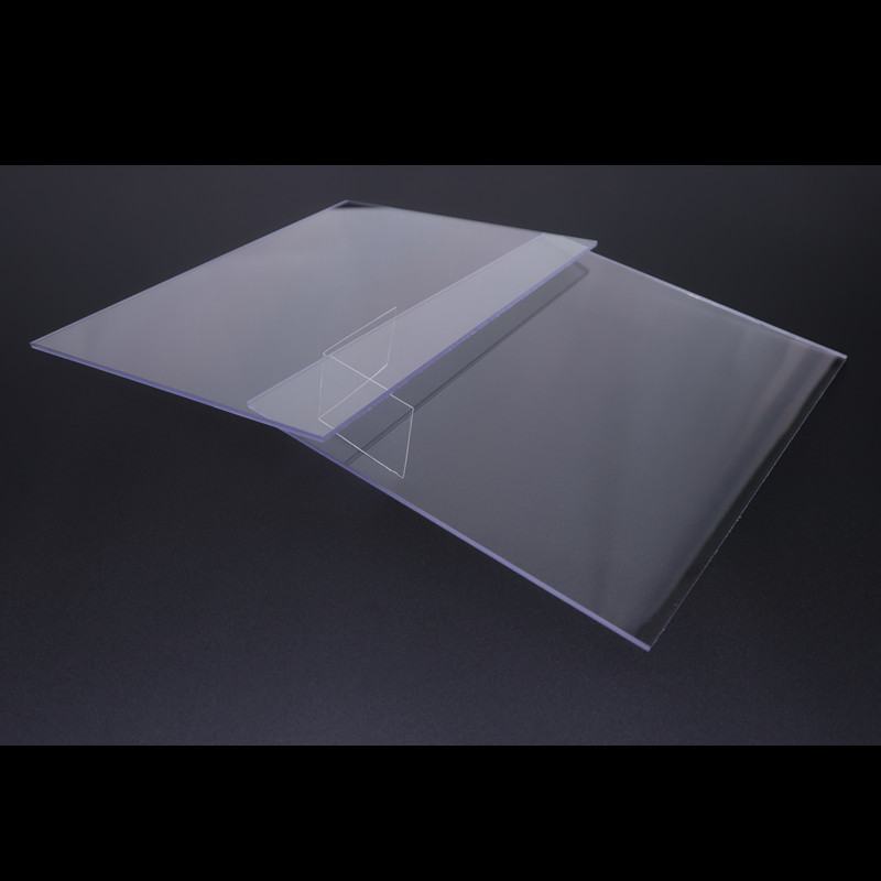 Cailong Opaque Color clear plastic sheets button design for LED lighting