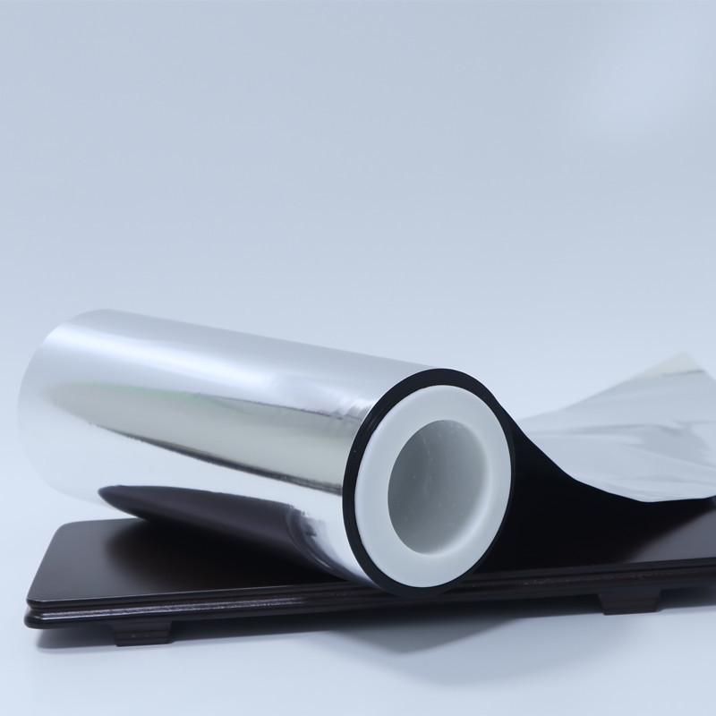 Double side metallized PET film